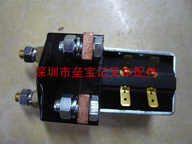 交流接触器的主触头通常有3对(可三相通电),主要是用在电动叉车的充电