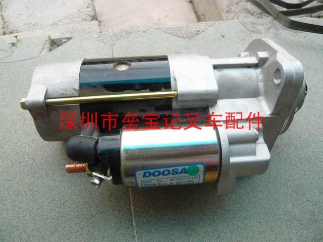 发动机系统:叉车启动机